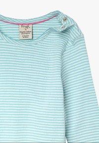 Frugi - MIA POINTELLE - Long sleeved top - topaz blue - 3