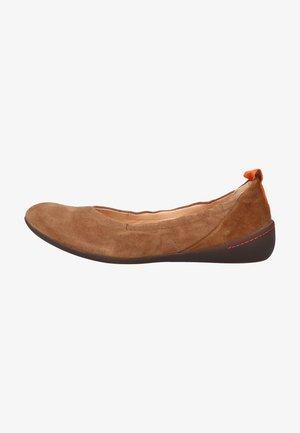 Ballet pumps - oak/kombi