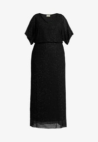 Lace & Beads Curvy - MAXI - Occasion wear - black - 4