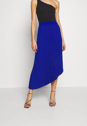 YAN PLISSE SKIRT - A-line skirt - blue