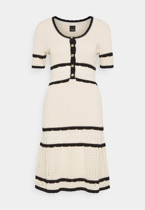 LEADER ABITO PUNTO FANTASIA  - Jumper dress - off-white