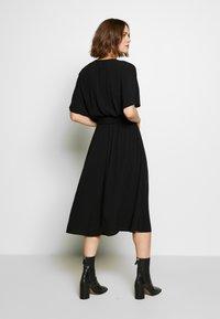 Selected Femme - SLFVIENNA DRESS - Day dress - black - 2