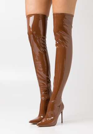 VAVA - High heeled boots - cognac