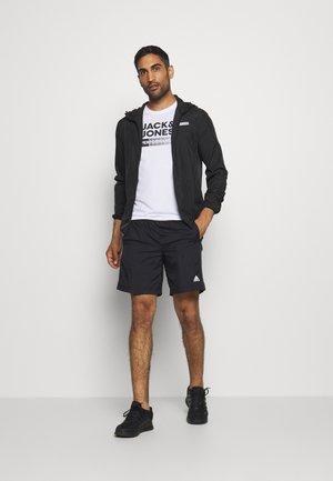 JCOZ SPORT LOGO TEE 2 PACK - T-shirt con stampa - black/white