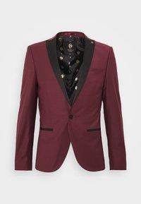 Twisted Tailor - KINGDON SUIT - Kostym - bordeaux - 8