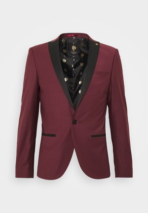 KINGDON SUIT - Garnitur - bordeaux