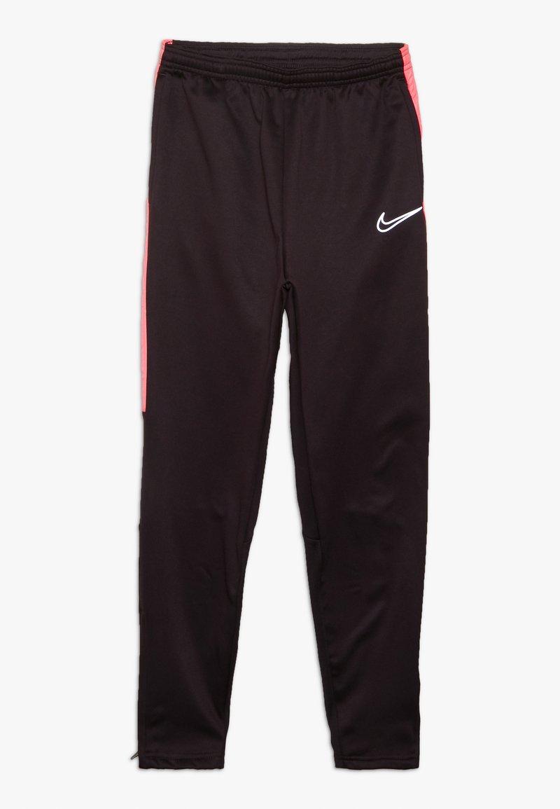 Nike Performance - ACADEMY WINTERIZED - Tracksuit bottoms - burgundy ash/racer pink/reflective silv