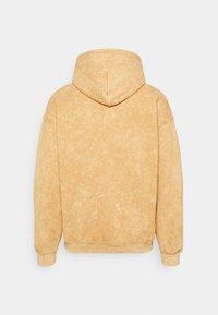 Vintage Supply - CORE OVERDYE HOODIE - Sweatshirt - yellow - 1