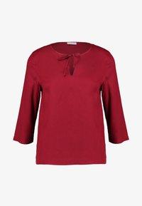 Re.draft - BLOUSE - Blusa - red velvet - 3