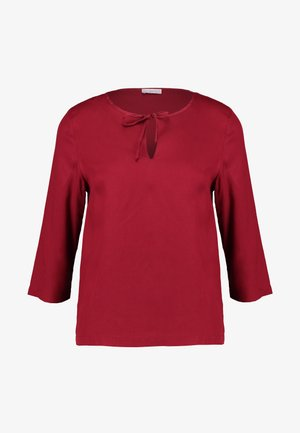 BLOUSE - Blouse - red velvet