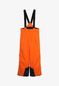 Kjus - BOYS VECTOR PANTS - Snow pants - orange - 4