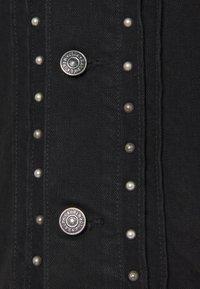 Polo Ralph Lauren - TRUCKER JACKET - Denim jacket - black - 2