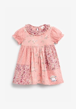 CAT PATCHWORK - Day dress - pink