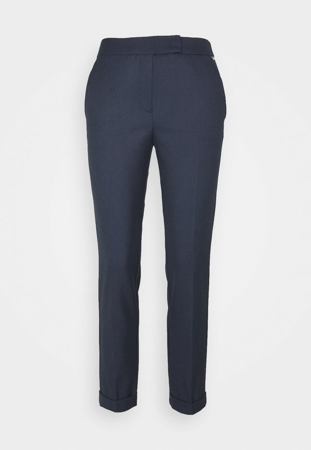 MONOPOLI - Trousers - navy blue