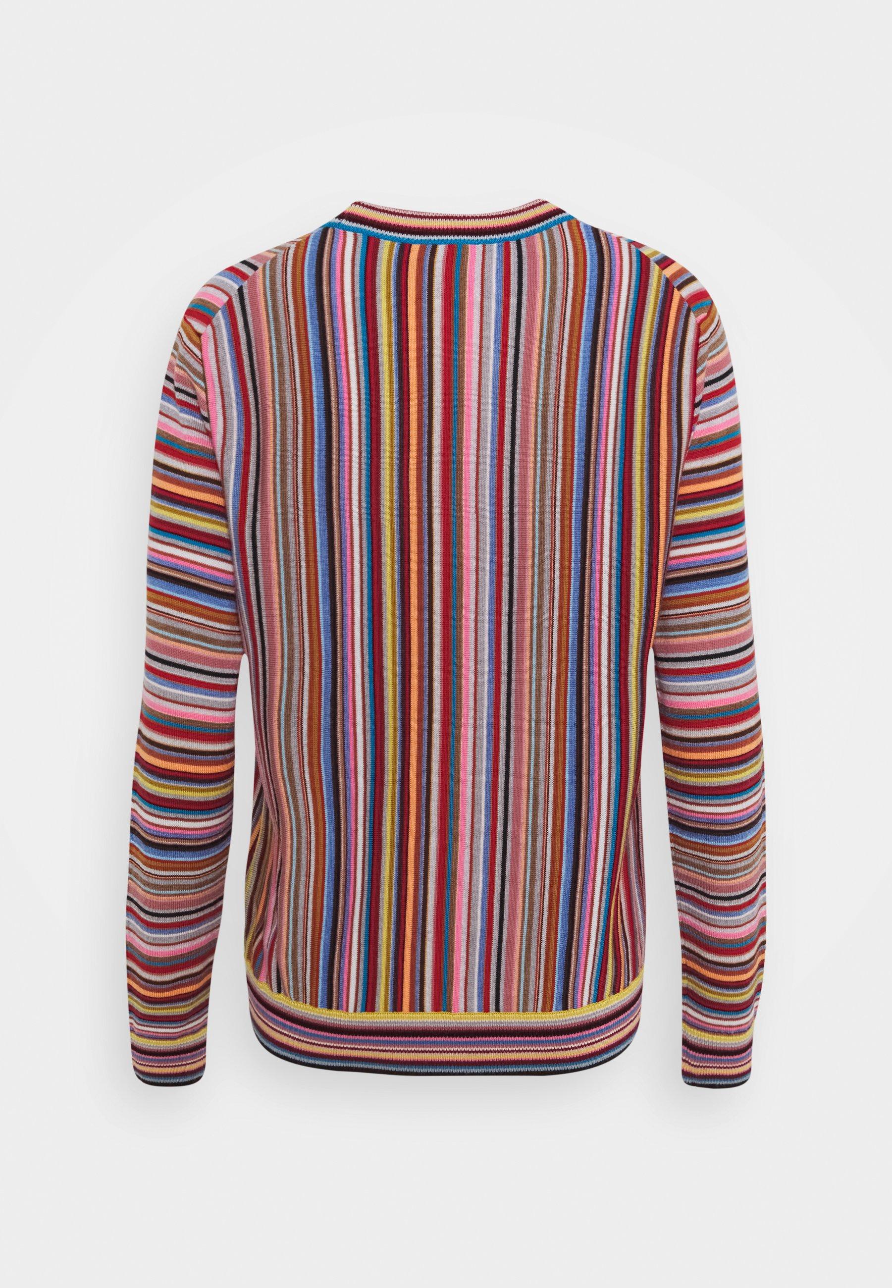 Paul Smith Womens - Strikkegenser Multi-coloured/flerfarget
