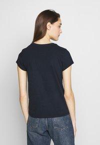 Abercrombie & Fitch - LONG LIFE LOGO - Print T-shirt - blue - 2