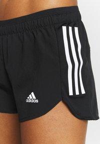 adidas Performance - RUN IT SHORT - Krótkie spodenki sportowe - black/white - 3