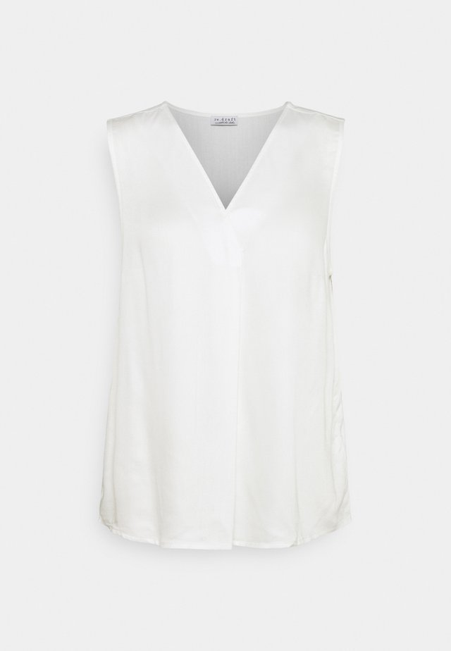 Camicetta - wool white
