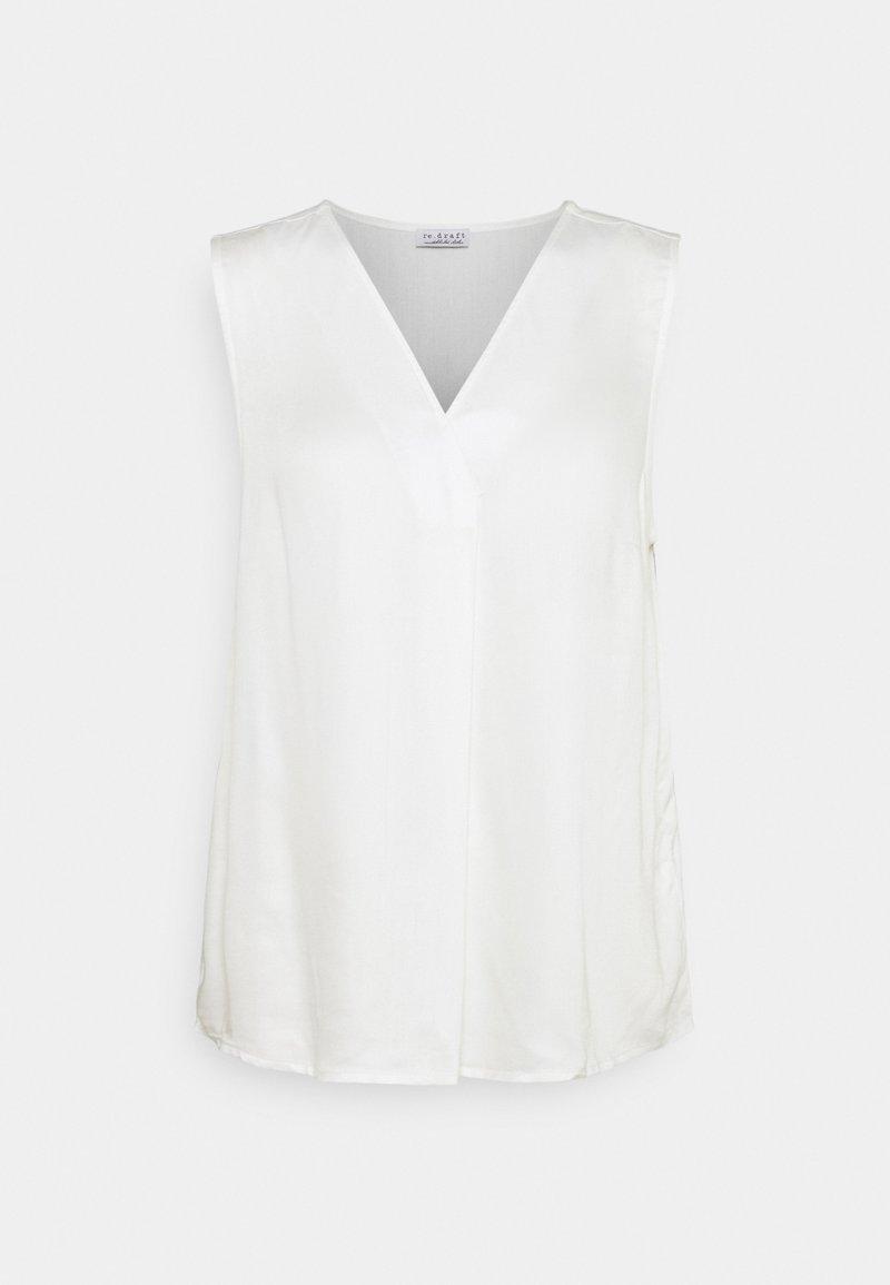 Re.draft - Blouse - wool white