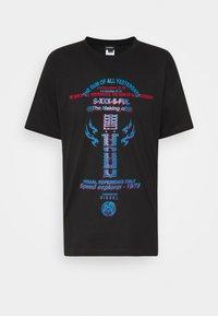 Diesel - TUBOLAR - Print T-shirt - black - 4