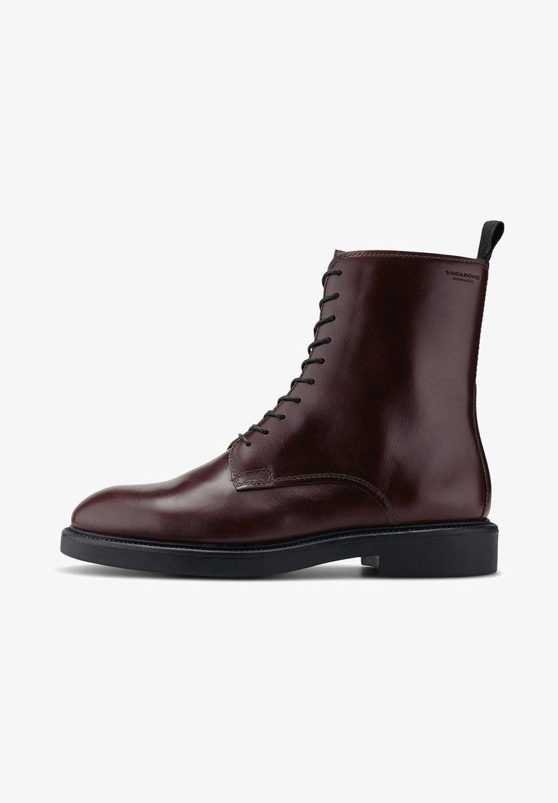Vagabond - ALEX W - Lace-up ankle boots - mittelbraun