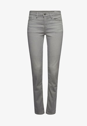 Slim fit jeans - grey medium washed