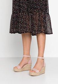 Anna Field - Sandaler med høye hæler - nude - 0