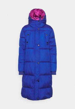 PADDED COREA - Winter coat - blue