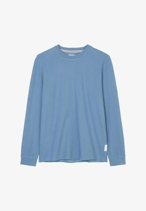 Long sleeved top - kashmir blue