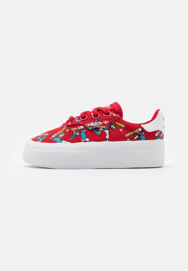 DISNEY GOOFY 3MC VULCANIZED SHOES UNISEX - Sneakers - scarlet/footwear white
