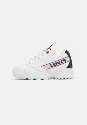 SOHO - Sneakers - white/navy/red