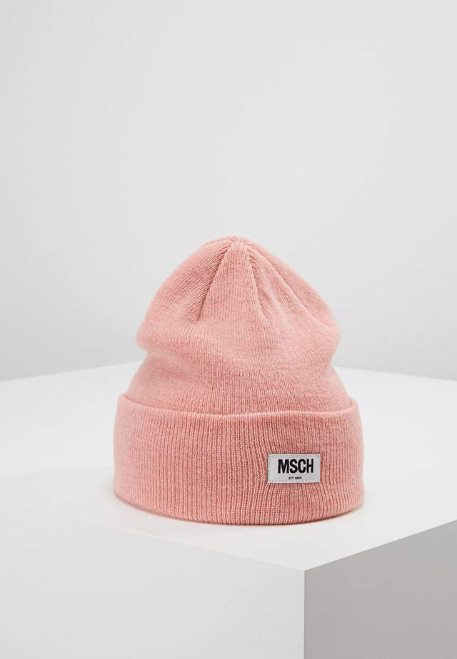 MOJO BEANIE - Čepice - quartz pink