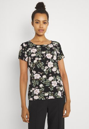 VMSAGA - T-shirt print - black