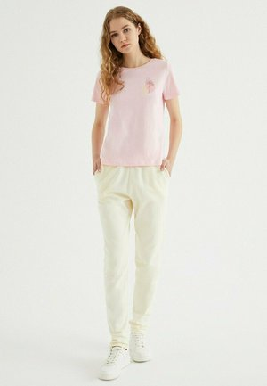 T-shirt print - rose shadow