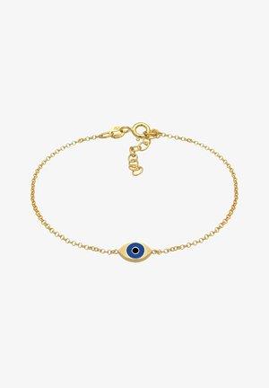 EVIL EYE SYMBOL EMAILLE - Bracelet - gold