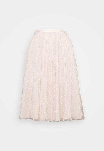 KISSES MIDI SKIRT EXCLUSIVE - A-line skirt - pink encore