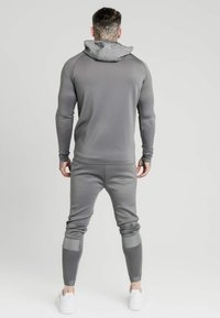 SIKSILK - CREASED ZIP THROUGH HOODIE - Zip-up hoodie - grey - 2