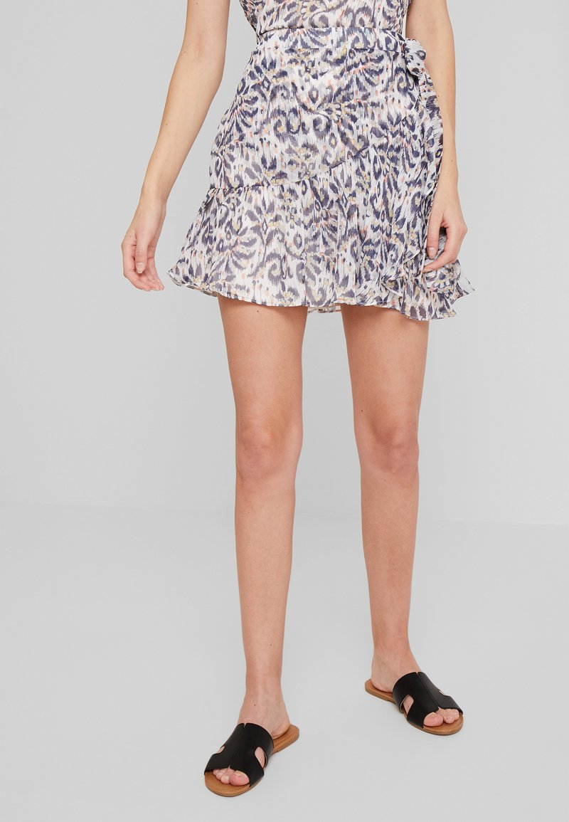 NAF NAF - KATE - Wrap skirt - imprime