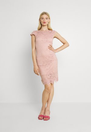 VIEDELLE CAPSLEEVE DRESS - Pouzdrové šaty - misty rose