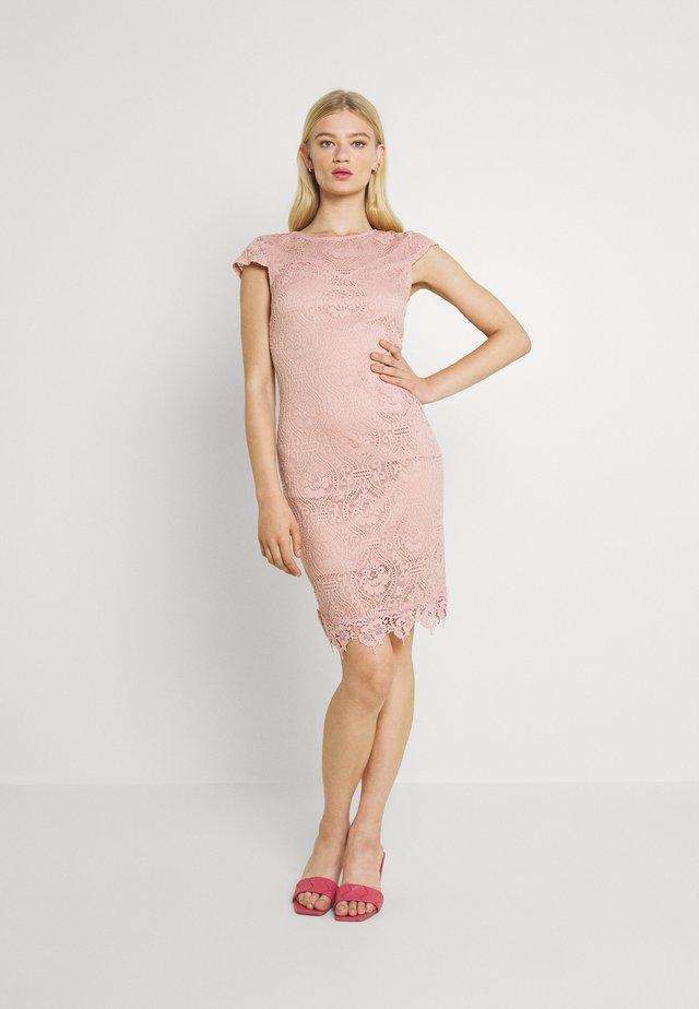 VIEDELLE CAPSLEEVE DRESS - Sukienka etui - misty rose