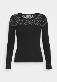 Anna Field Petite - Long sleeved top - black - 4
