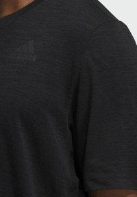 adidas Performance - CITY ELEVATED T-SHIRT - Basic T-shirt - black - 3