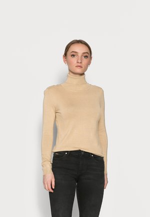 VIBOLONIA ROLLNECK - Strikkegenser - off-white