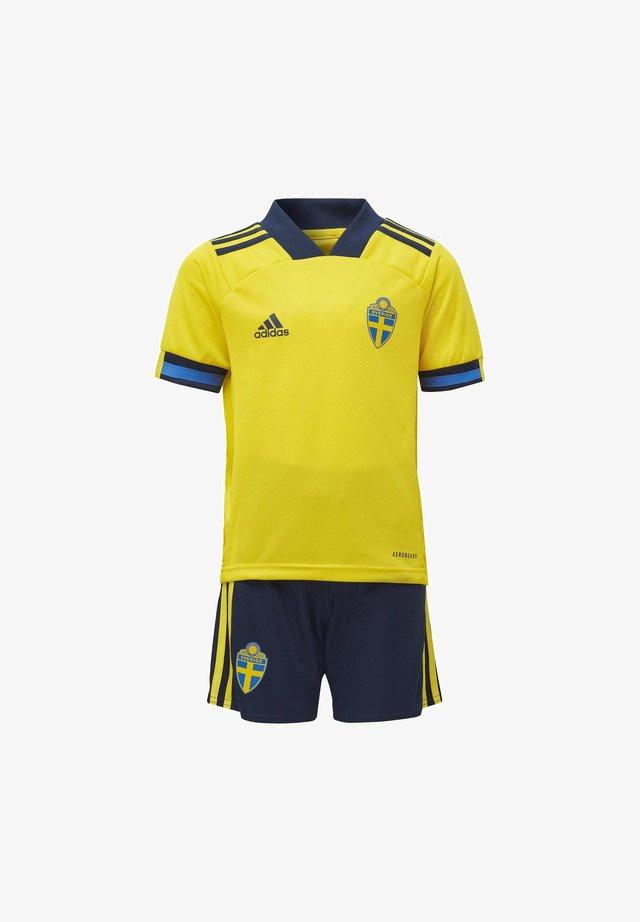 SVFF SWEDEN AEROREADY MINIKIT - Korte broeken - yellow