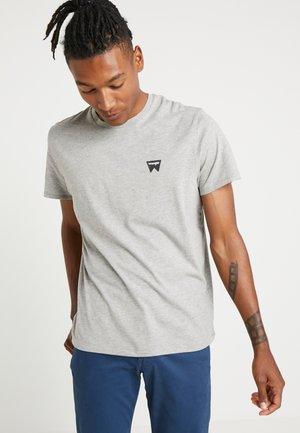 SIGN OFF TEE - T-shirt - bas - grey