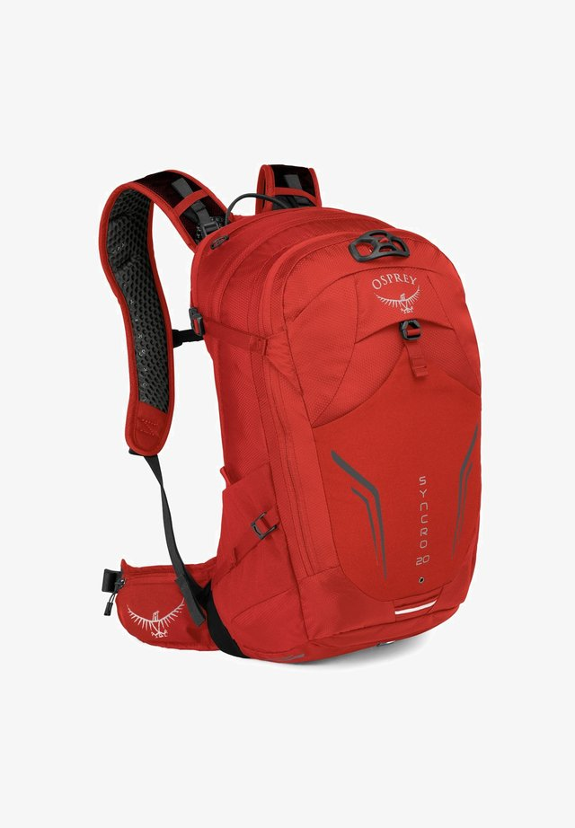 SYNCRO 20 - Zaino - firebelly red