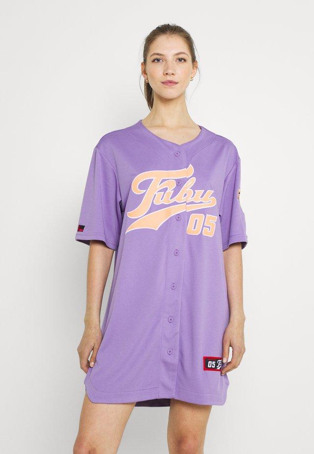 VARSITY BASEBALL DRESS - Jerseyjurk - purple