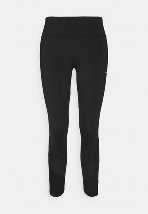 FINE GAUGE LEGGING 7/8 - Collants - black