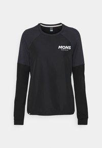 Mons Royale - TARN FREERIDE WIND  - Langarmshirt - black - 0
