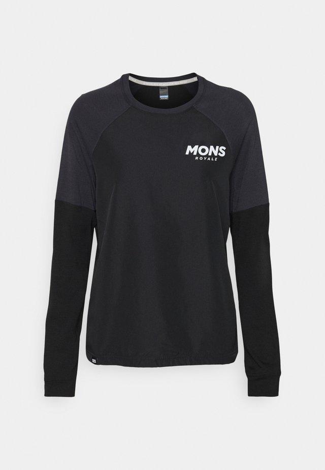 TARN FREERIDE WIND  - Långärmad tröja - black